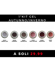 1* Kit Gel Autunno/Inverno